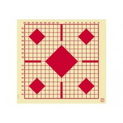 Blanco Klamer 55x52 Colimación Visor Rojo 100 unid