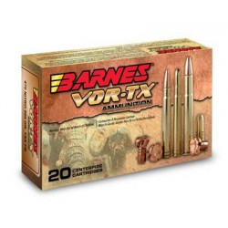 Munición Barnes 8x57 Mauser...