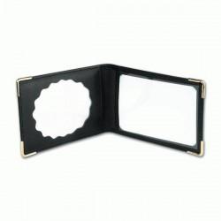 Cartera Pielcu Porta-Placa Cuero Standard