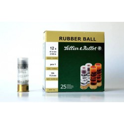 Cartucho Sellier&Bellot 12 Rubber Ball