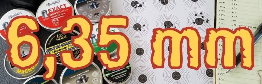 Munición Aire Comprimido: Balines y Perdigones 6.35mm - Armería Online